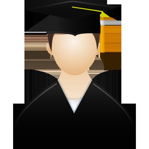 Graduate-male-icon